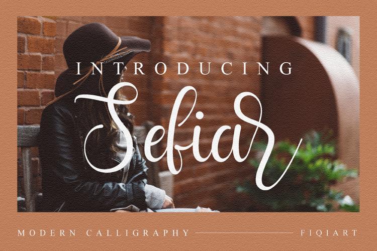 Sefia Font