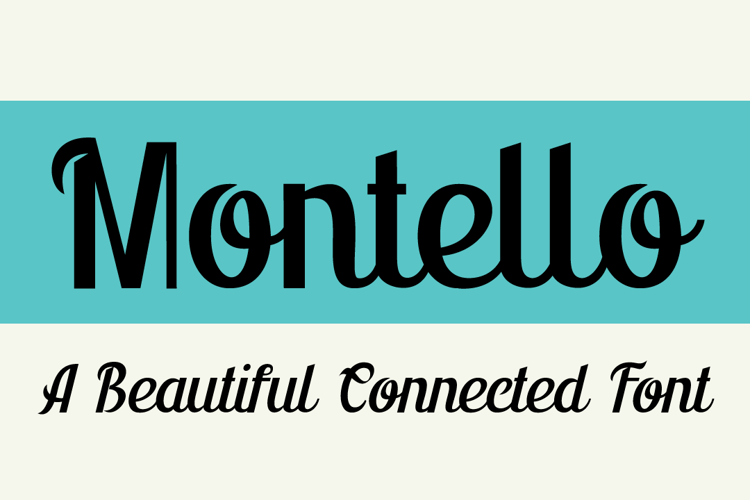 Montello DEMO Font