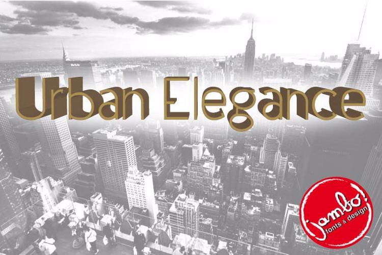 Urban Elegance Font