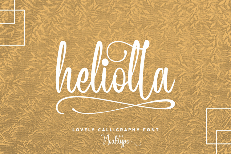 Heliolla Font
