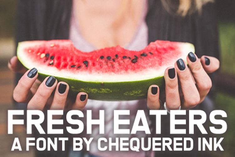 Fresh Eaters Font