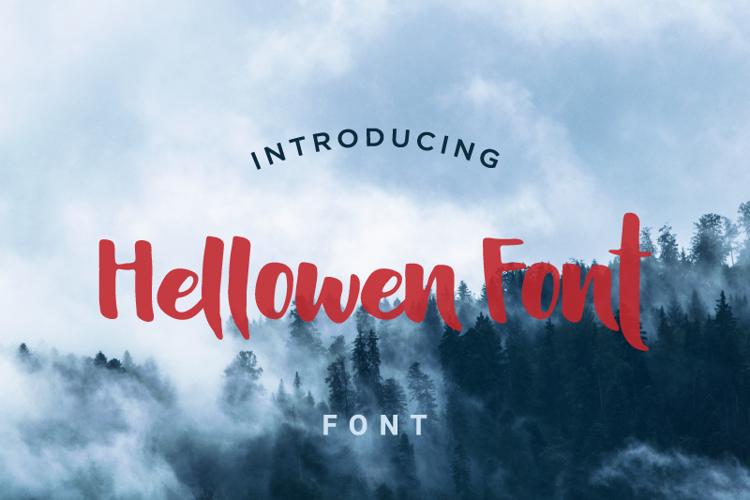 Hellowen Font