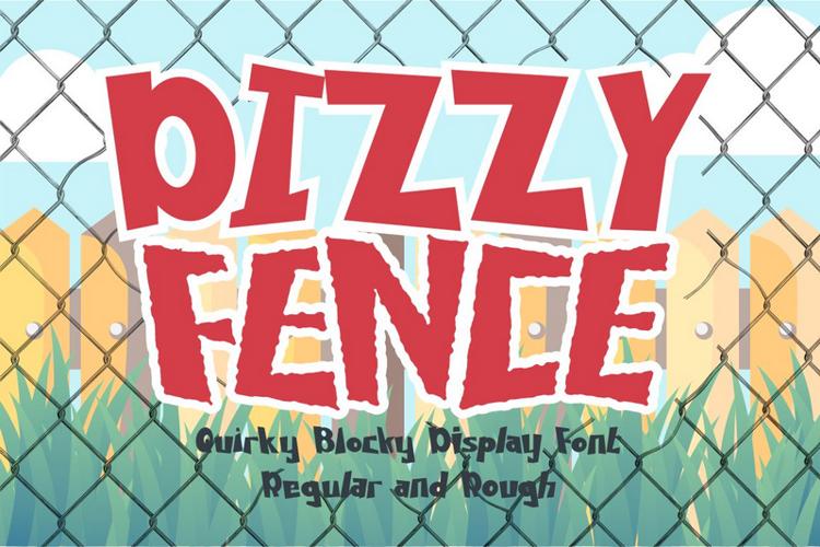 DIZZY FENCE Font