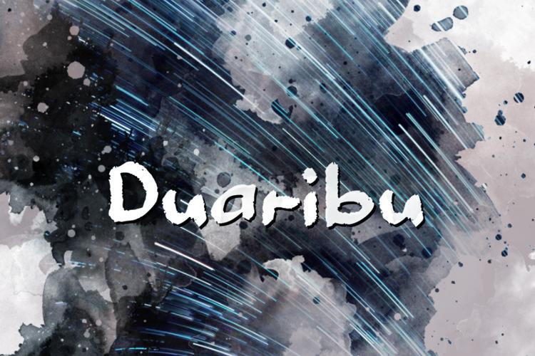 d Duaribu Font