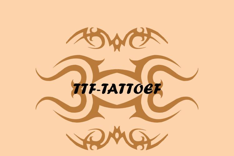 TTF_TATTOEF Font
