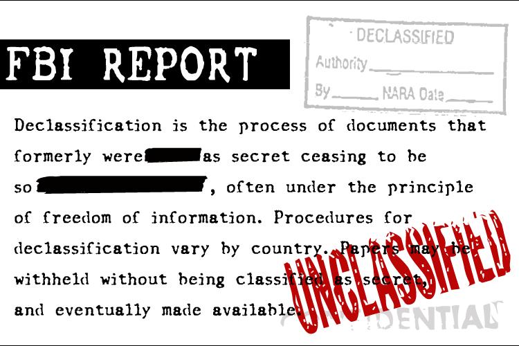 FBI Old Report Font