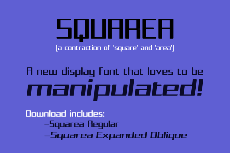 Squarea Font