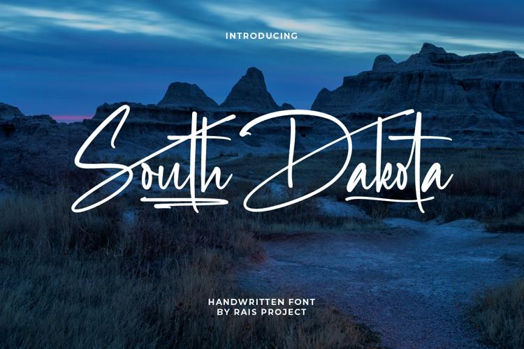 South Dakota Font