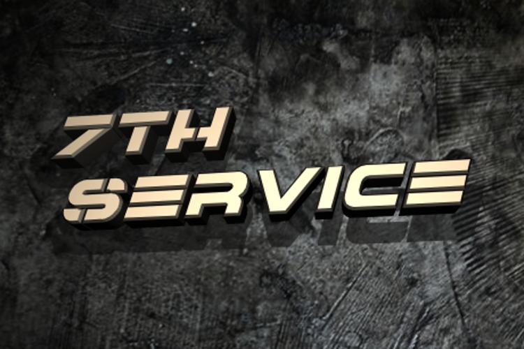 7th Service Font