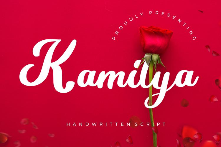 Kamilya Font