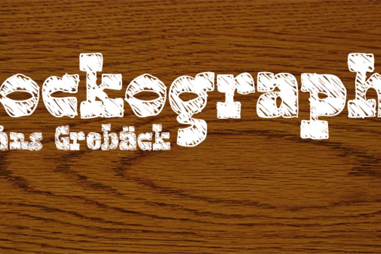 Blockography Font