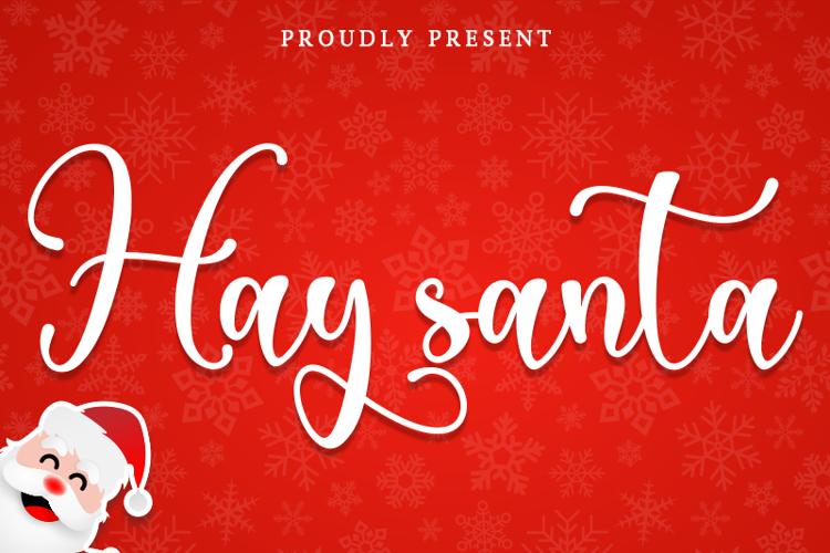 Hay Santa Font