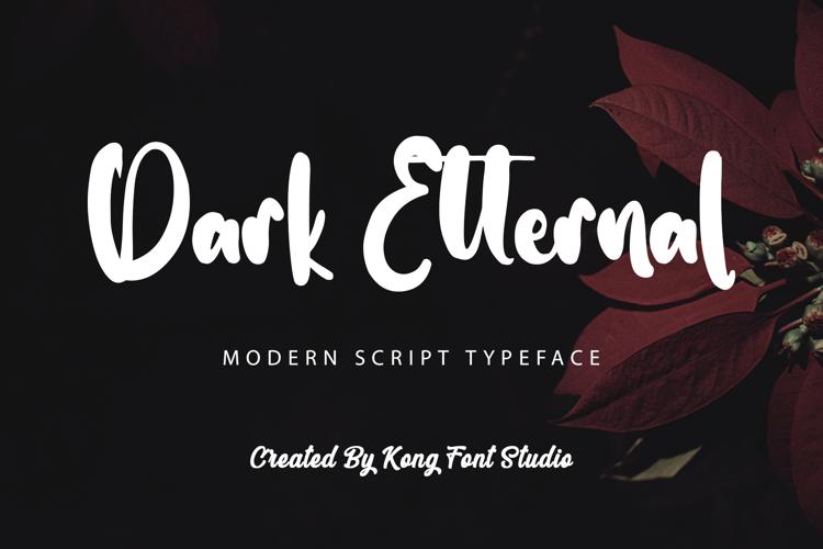 Dark Etternal Font