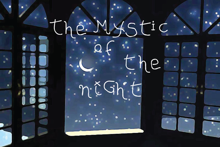 The MYStIc of the niGht Font