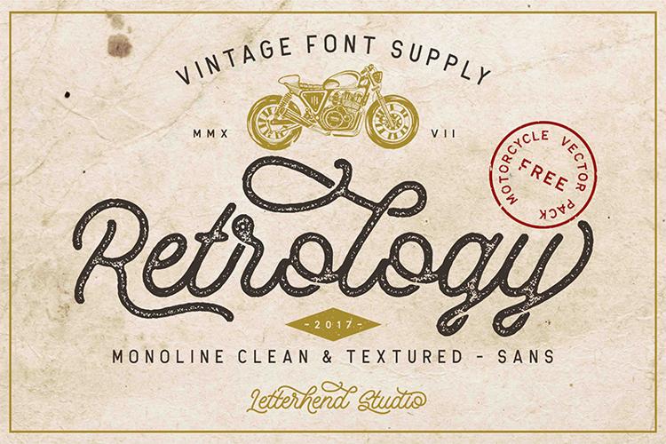 Retrology DEMO Font