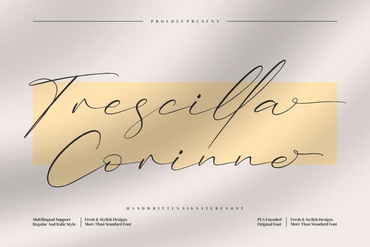 Trescilla Corinne Font
