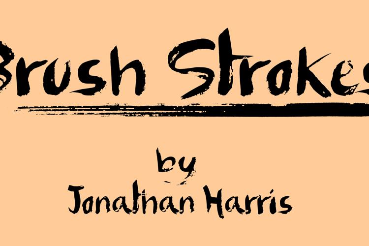Brush Strokes Font