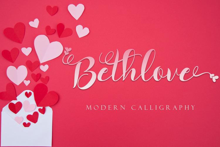 Bethlove Font