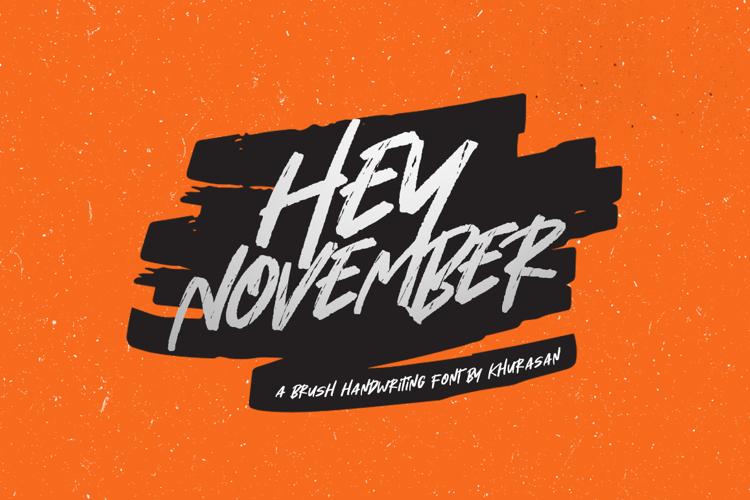 Hey November Font