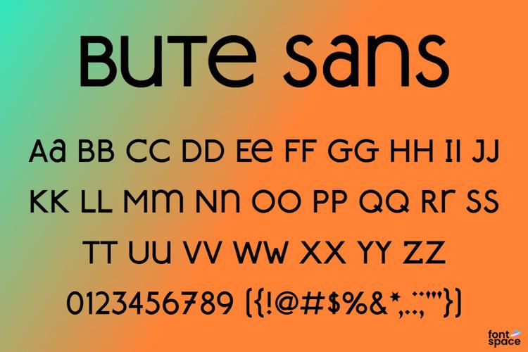 Bute Sans Font