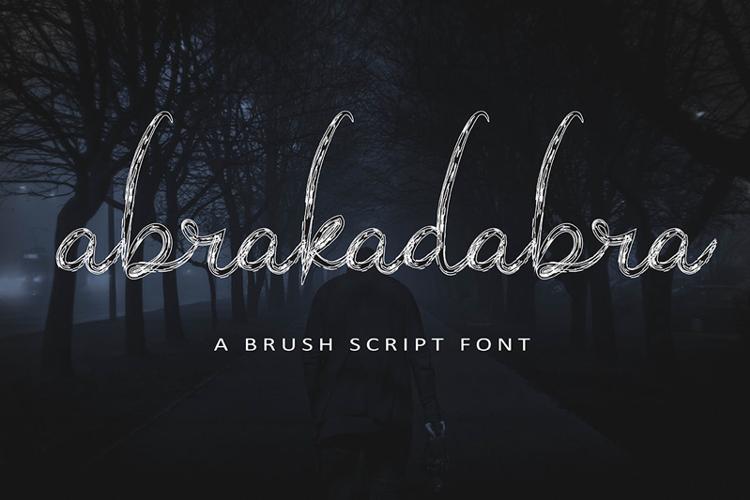 abrakadabra Font
