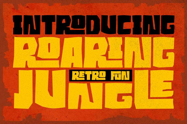 Roaring Jungle Font