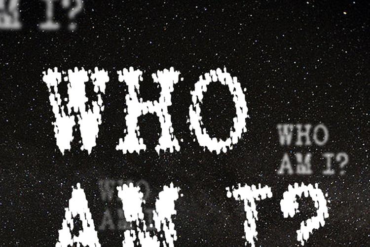 WHO AM I Font