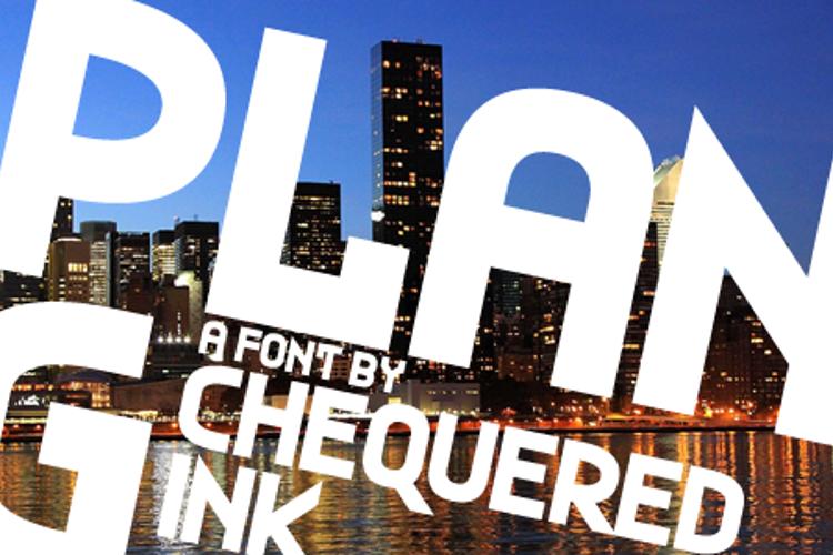 Plan G Font