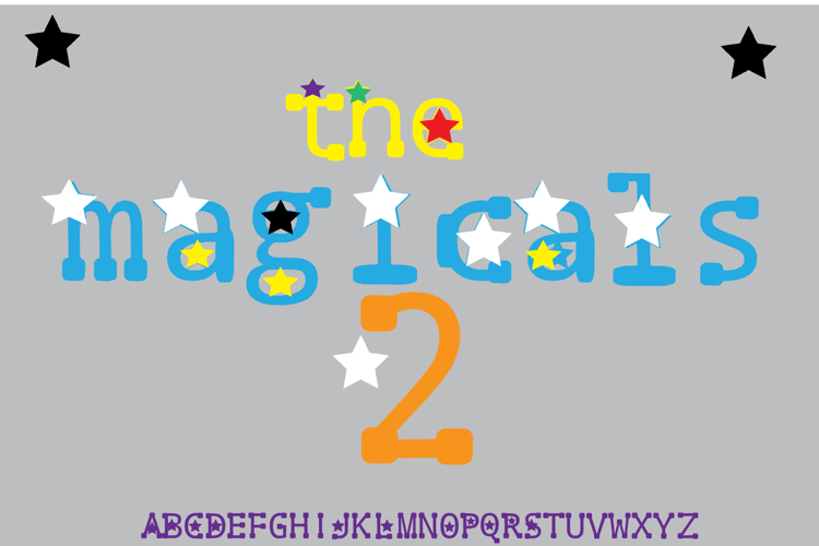 the magicals 2 Font