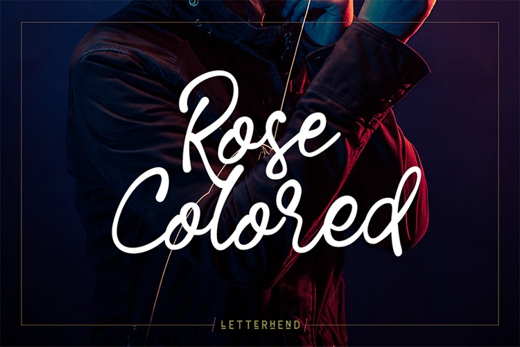 Rose Colored Font