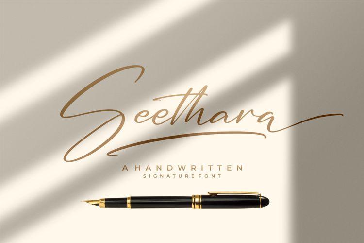 Seethara Font