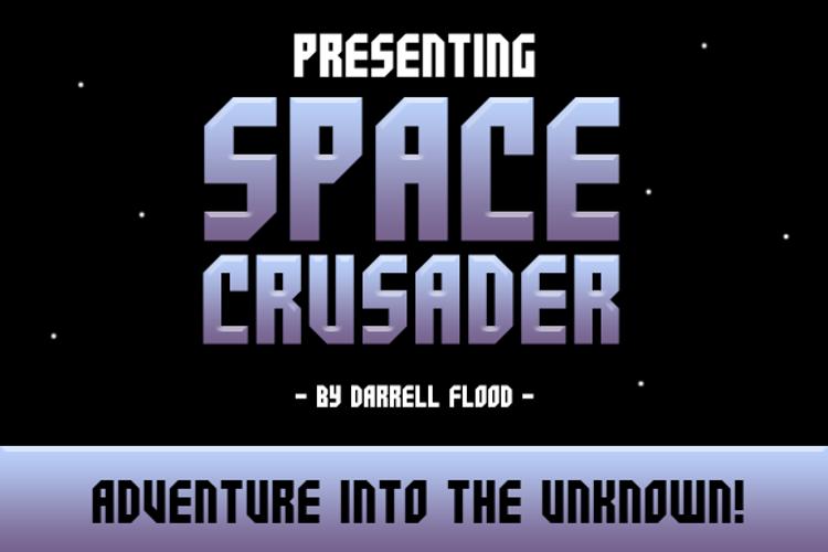 Space Crusader Font