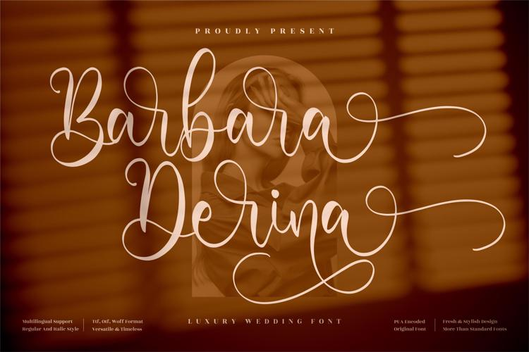 Barbara Derina Font