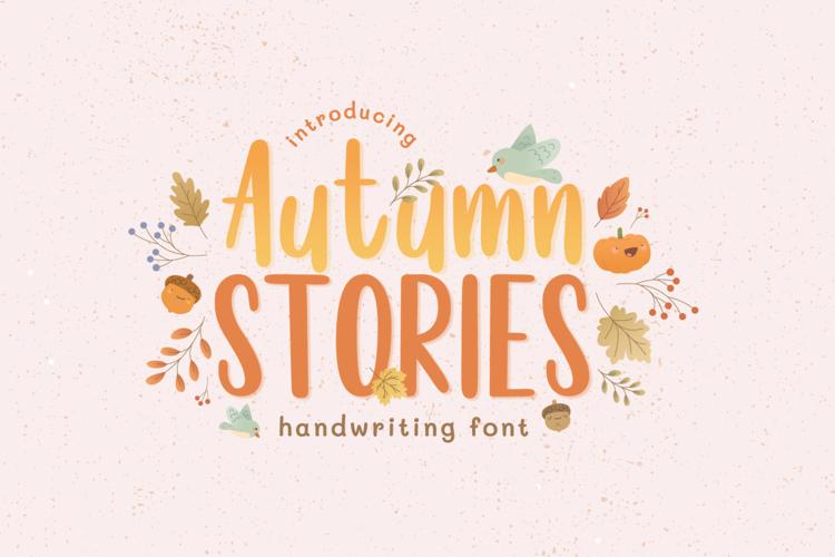 Autumn Stories Font