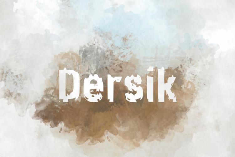 d Dersik Font