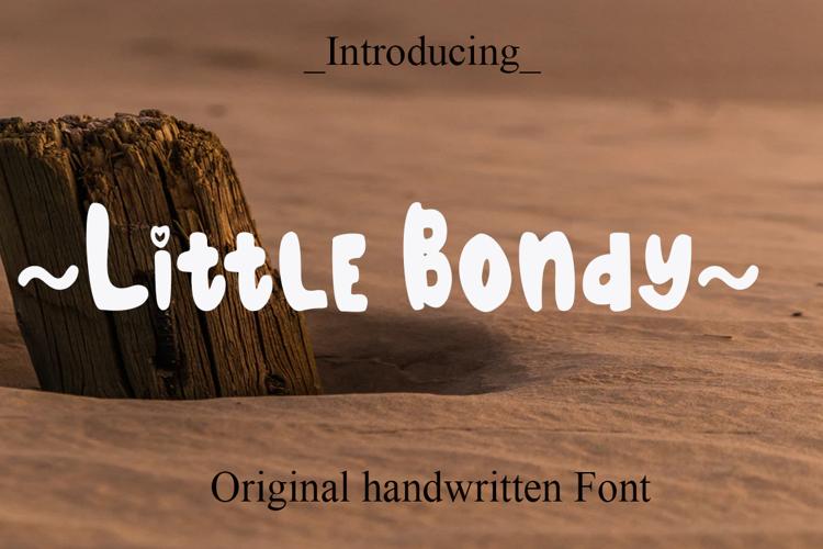 Little Bondy Font