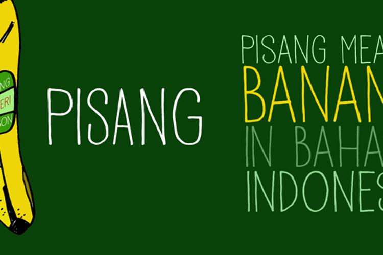 DK Pisang Font