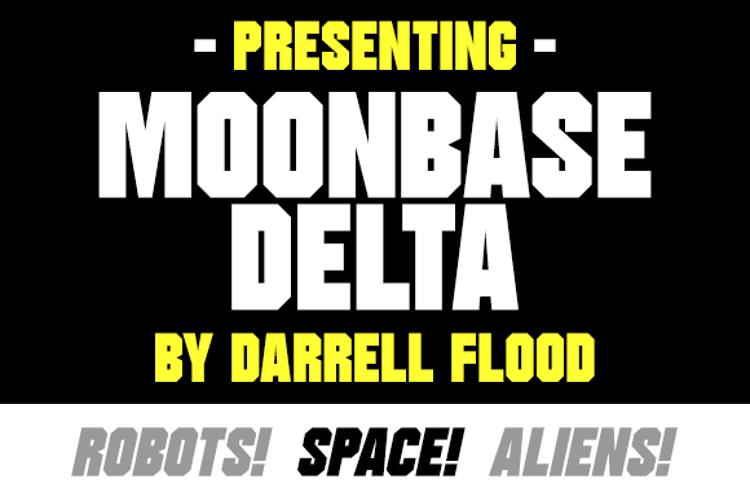 Moonbase Delta Font