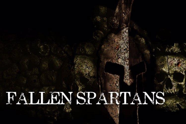Fallen Spartans Font