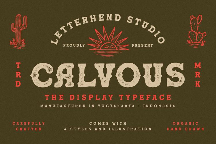 Calvous Font