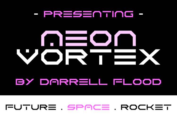 Neon Vortex Font