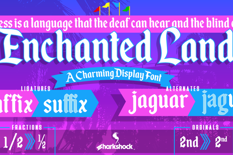 Enchanted Land Font