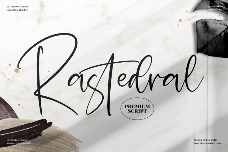 Rastedral Font