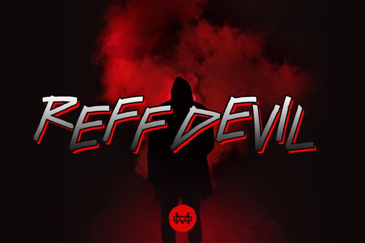 Reff Devil Font