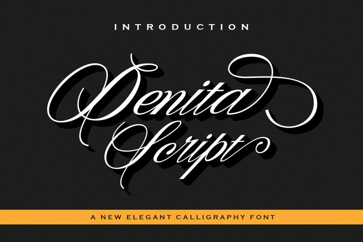 Denita Script Font