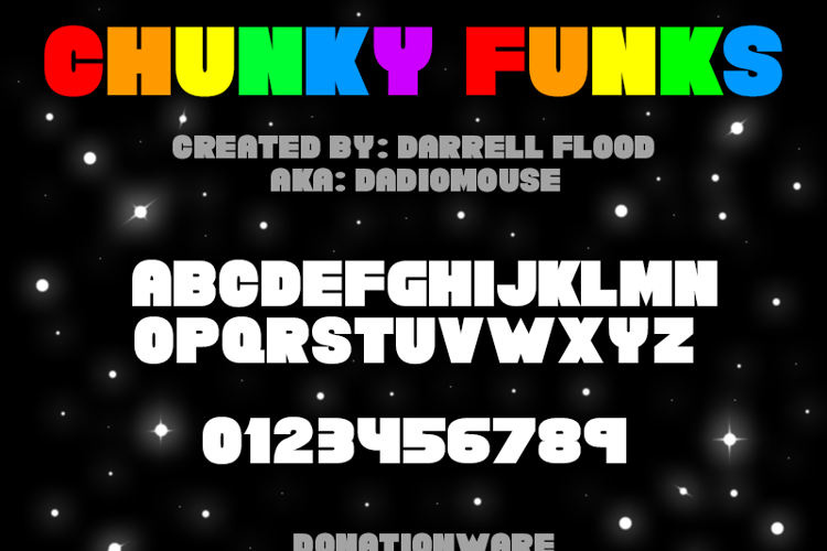 Chunky Funks Font
