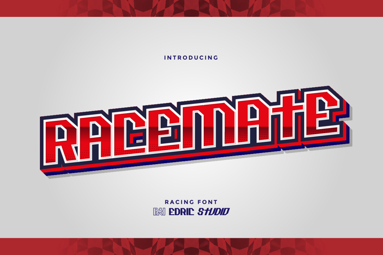 Racemate Font