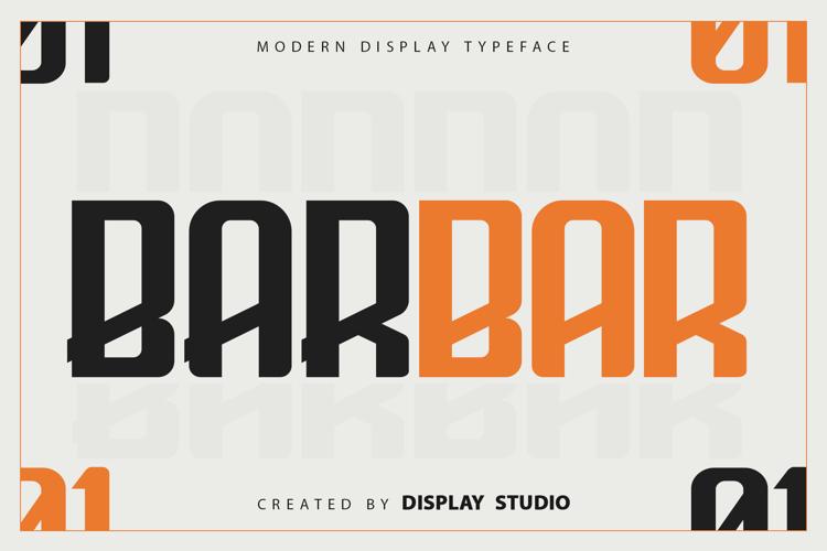 Barbar Font