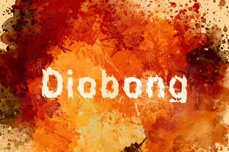 d Diobong Font