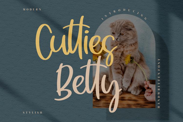 Cutties Betty Font